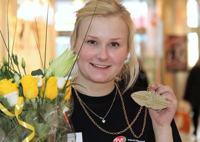 2011 vann Anna Fredriksson från Lugnetgymnasiet i Falun SM för unga plåtslagare, och var därmed första tjej att ta hem guldmedaljen.