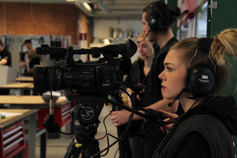 Mediagymnasiet i Nacka var där och livesände tävlingen