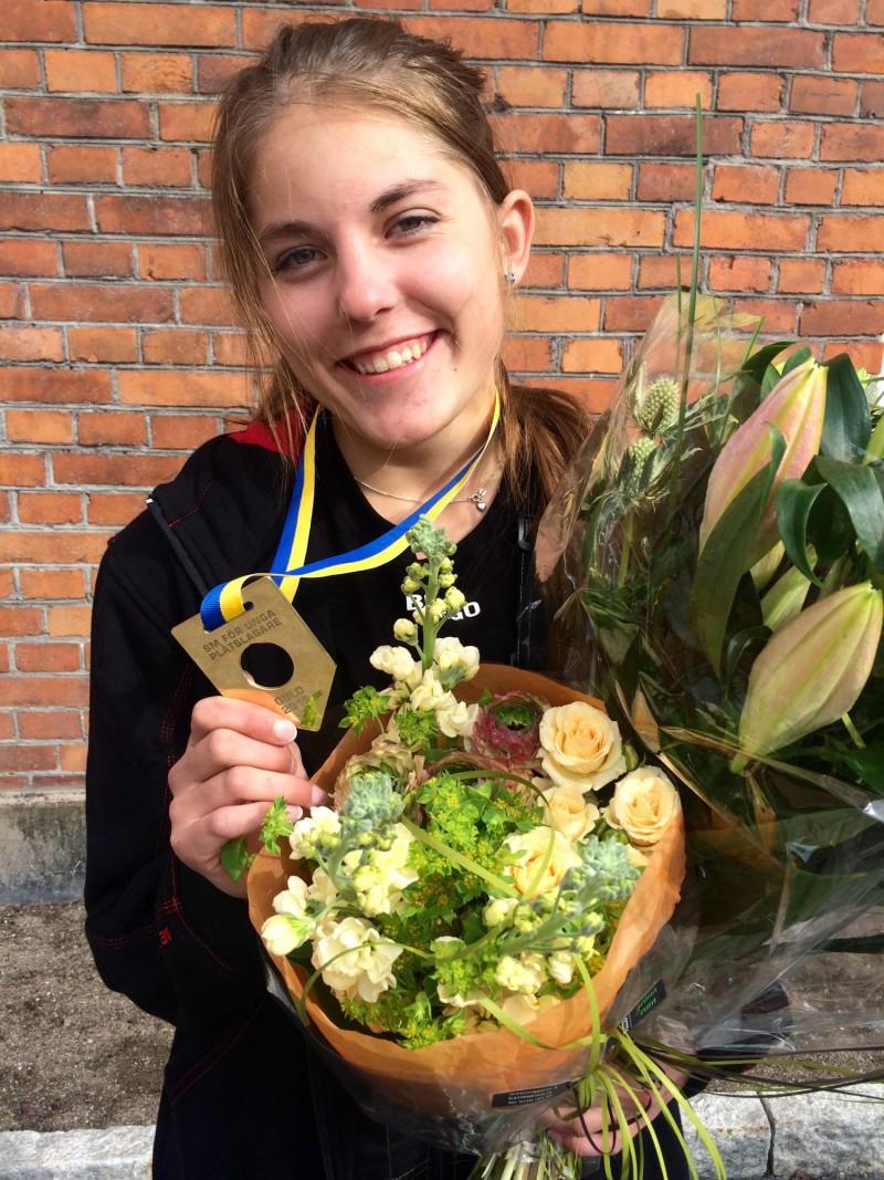 Vinnaren Sofia Sörliden