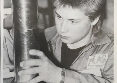 1989, Daniel Nilsson från Polhemsskolan i Gävle.