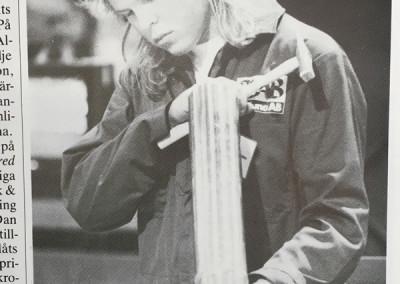 1989, Peter Eriksson från Wernströmska skolan i Västerås.