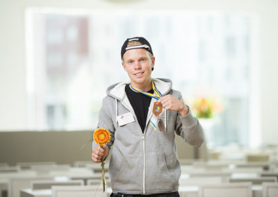 David Rudberg vann brons