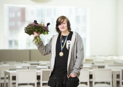 Erik Teuchler vann guld
