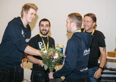 Daniel Ericsson, Anton Blomquist och Ludwig Uhrbom