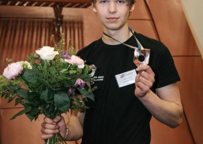 Bronsmedaljör Lucas Svensson